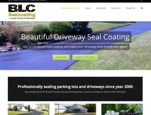 BLC Seal Coating Website